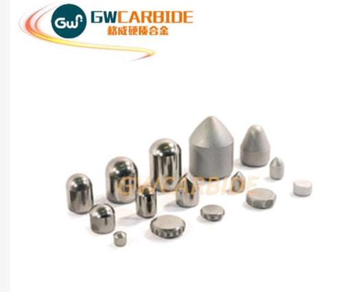 Tungsten Carbide Buttons For Mining Tools Application: Rock Drill Bits
