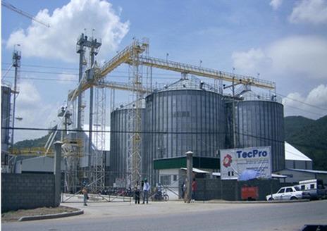 Steel 10000 Ton Wheat Storage Grain Silo in Taian, Shandong - Tai'an