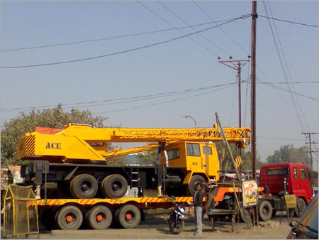 Telescopic Truck Mounted Crane Rental Services