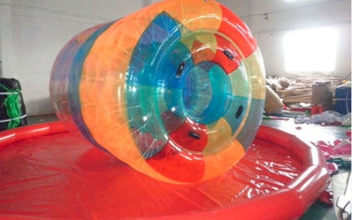 Commercial Grade Pvc Inflatable Water Cylinder 2.8Ml Size