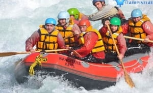 The Adventure Trails With Raft Boat