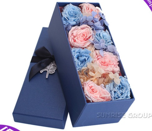 Flower Packaging Paper Round Squre Rectancle Gift Box