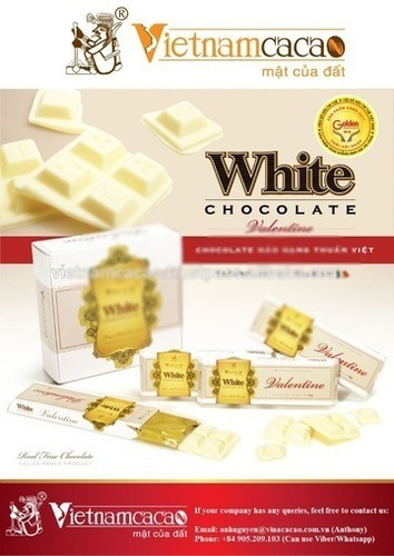 White Chocolate Bar Certifications: Halal
