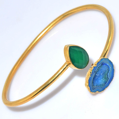 Gold Plated Trendy Bangle