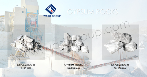 Natural Gypsum Lumps