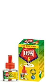 Herbal Hunter Mosquito Repellent Liquid Vaporizer