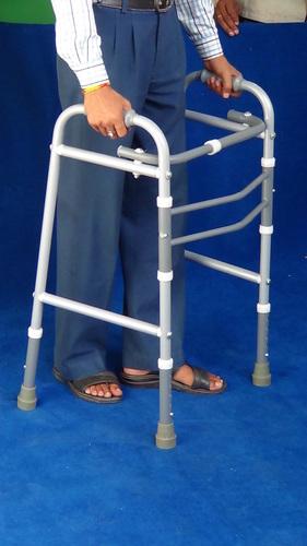 Walking Frame, Adult, Height Adj. & Foldable (W/O. Wheels)