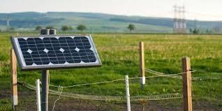 Industrial Solar Power Fencing System