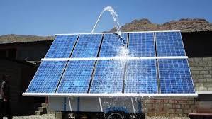 Industrial Solar Powered Pump