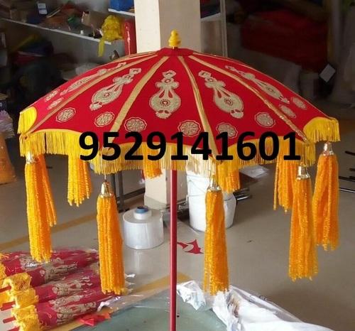 Rajasthani Wedding Velvet Umbrella