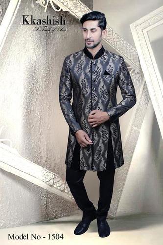 Pattern Indo Sherwani