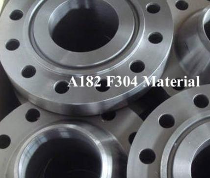 A182 F304 Steel Flange