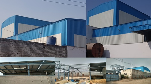 Industrial Light Weight Steel Structures in  New Area