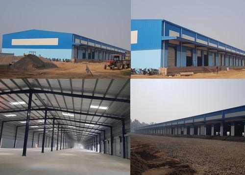 Industrial Prefab Mezzanine Building in  New Area