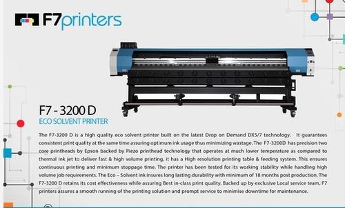 F7-Eco solvent Printer