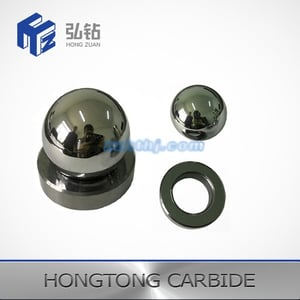 Tungsten Carbide Ball And Valve Seat For Oil Pump