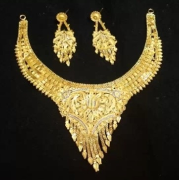 1 Gram Gold Necklace Set V H Enterprise Plot No B 42 Sagar Sarita Marve Road Malad W Near Adarsh Dugdhalaya Mumbai India