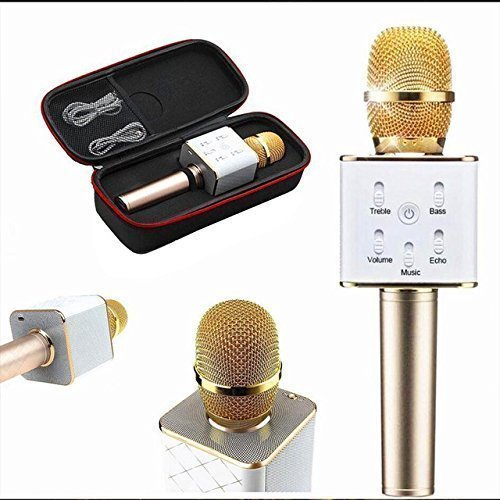 Karaoke Mic With Bluetooth Speaker