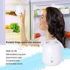 Portable Fridge Ozone Odor Remover