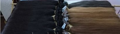 Black Vietnam Human Remy Hair Straight Weft And Tape Hair
