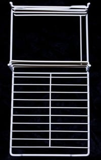 Wire Shelves Plastic Coated