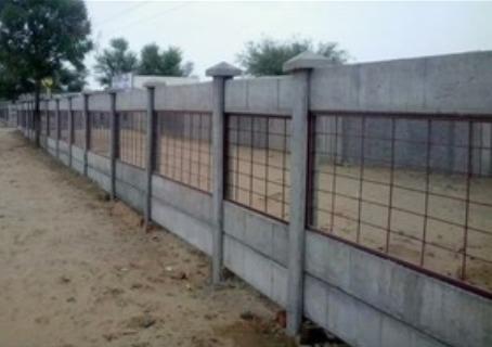 Cement Fencing Pillar