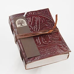 Handmade The Tree Of Life Leather Journal