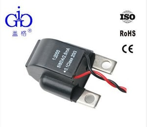 Three Phase Power Meter Use 1:2000 Current Transformer