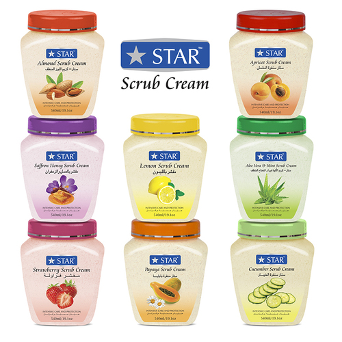 Face And Body Scrub Cream