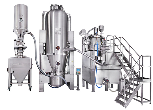 High Performance Rapid Mixer Granulator