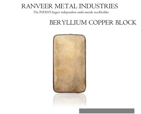 Beryllium Copper C17200 Block Certifications: Iso 9001:2015