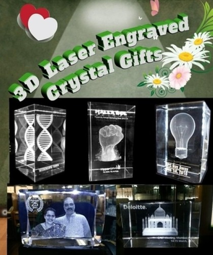 Corporate 3D Crystal Gifts