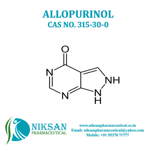Allopurinol Ip/Bp/Usp/Ep