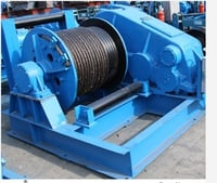 Heavy Duty Building Material 40 Ton Small Electric Winch