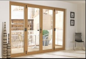 Sing Open Style PVC Glass Doors Application: kitchen