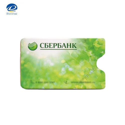 Pvc Plastic Bank Card Holder