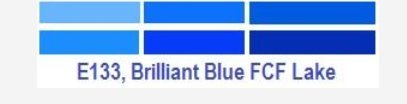 Lake Brilliant Blue FCF CAS 3844-45-9 Food Color C.I. NO. 42090:1, C.I.. Pigment Blue 24