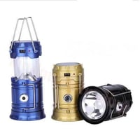 Hamee Rechargeable Camping LED Lantern with Torch light
