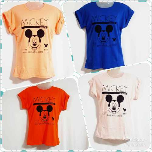 Girls Printed T Shirts