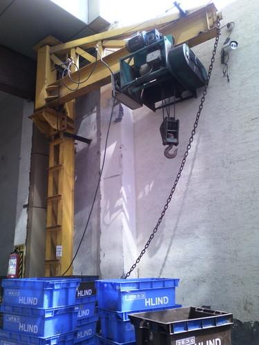 Industrial Jib Cranes For Material Handling