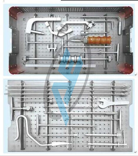 Interlocking Tibial Instrument Set