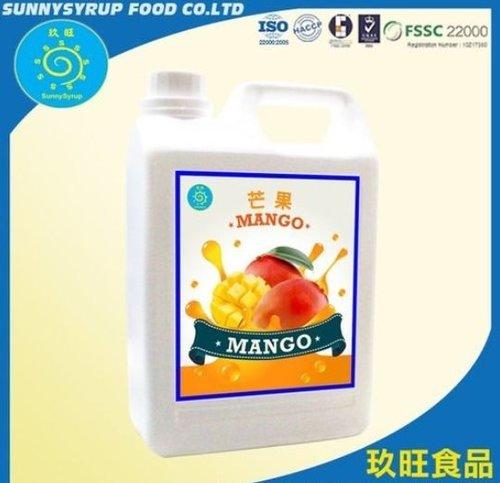 Bubble Tea Syrup Mango Juice Concentrate