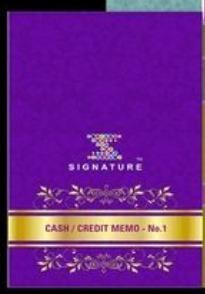 Printed Cash Memo Book