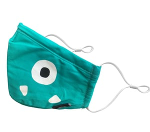 Beatclouds Kids N95 Pm 2.5 Pollution Face Mask Amazing Green