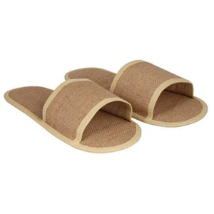 Flat and Comfortable Jute Slippers