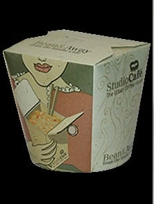 Printed Noodle Box For Packaging