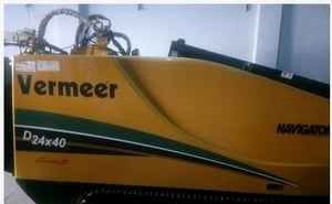Vermeer Ditch Witch Straight Line