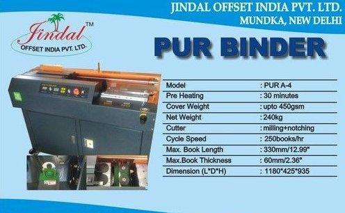 Pur Binder Machine