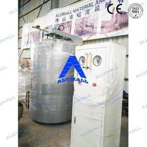 60KW Well Type Vacuum Gas Nitriding Furnace