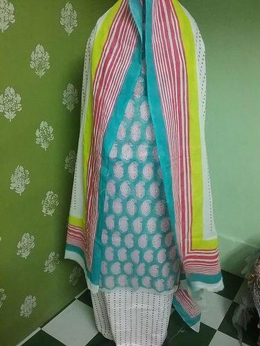 Attractive Ladies Cotton Suit